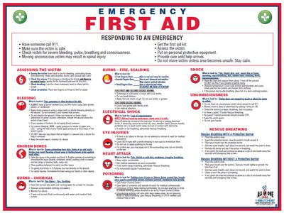 first aid instruction booklet printable