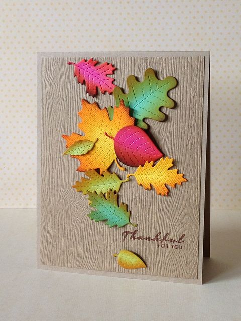 Thankful Leaves by donna mikasa, via Flickr