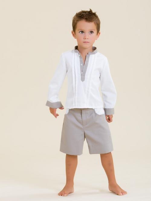 Conjunto niño camisa y pantalón 008 - Marketplace social de tiendas para niños de 0 a 14 años