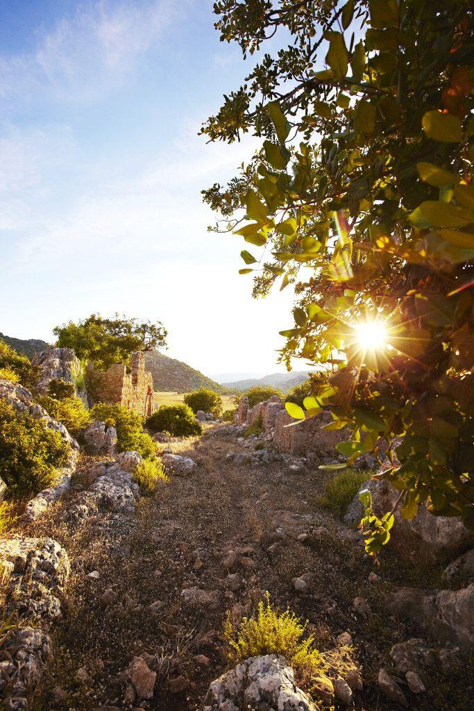 Der Lykische Weg in der Nähe von #Kas #Türkei