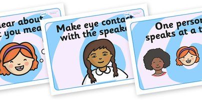 Speaking and Listening Rules Display Posters - Speaking and Listening, Carpet rules, good listening, quiet, brain box, turn taking, speak clearly