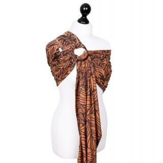 Fidella baby wrap -Limited Edition- Dancing Leaves -autumn sunset-  ring sling