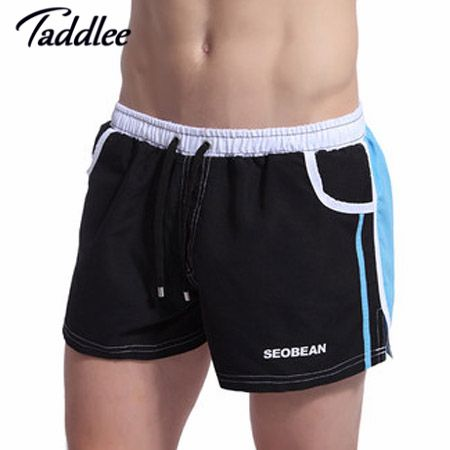 Taddlee Brand New Mens Shorts Cotton Casual Summer Fitness men workout Shorts Trunks Active Sweatpants Men Beach Board Shorts