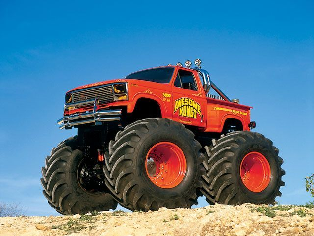 Awesome Kong II Monster Truck!