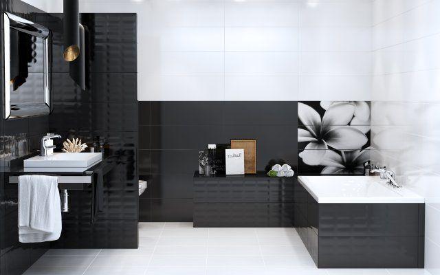 płytki podłogowe czarno biała mozaika - Szukaj w Google