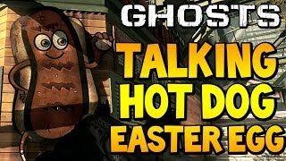 "#CODGhosts - ""TALKING HOT DOG EASTER EGG"" on #Strikezone (Call of Duty Secrets)"