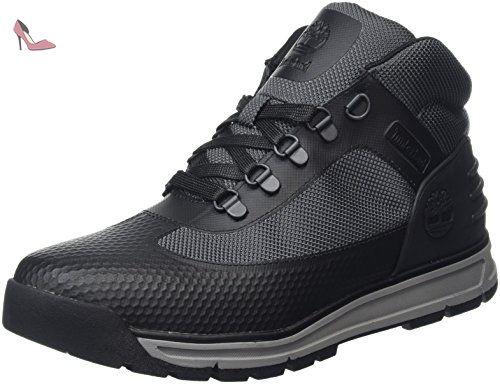 Timberland Field Guide No Sew, Bottes Chukka Hommes, Noir (Black), 43 EU - Chaussures timberland (*Partner-Link)
