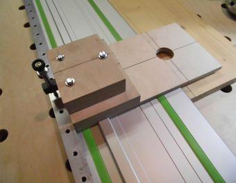 Schienenumbau für Lochreiche 32mm
