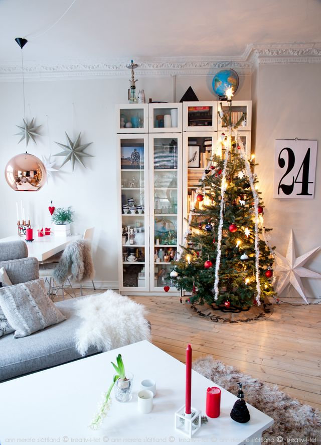 Christmas in our livingroom - Kreativ-i-tet interior blog