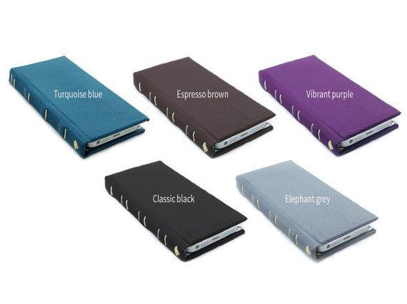 iphone 5s case iphone 6 case iphone 5s wallet case by Bookshell