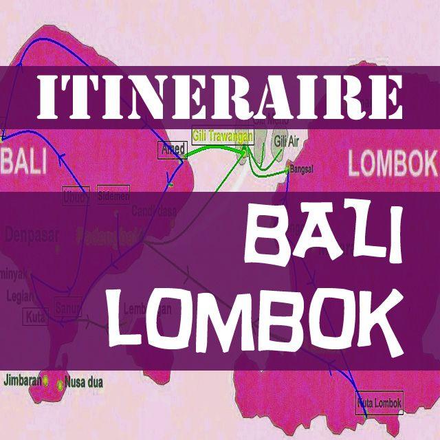 Itineraire Bali