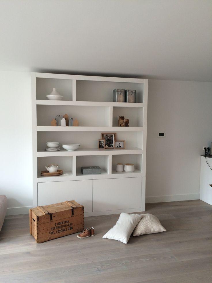 25 beste idee n over scheidingswand boekenkast op pinterest scheidingswandplanken - Scheiden een kamer door een gordijn ...