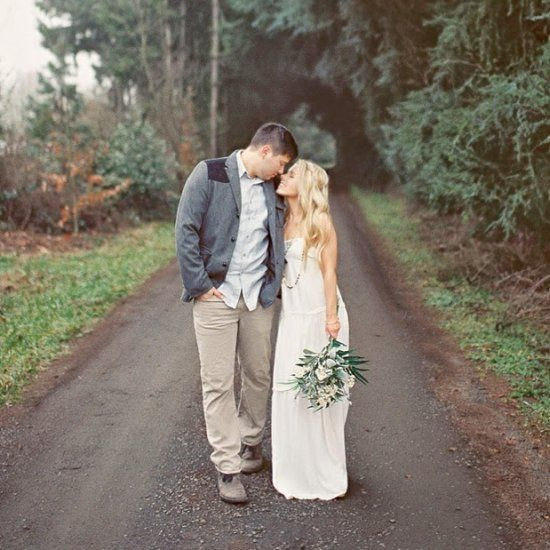 A beautiful romantic styled love shoot shot in film // Alexandra Grace Photography.