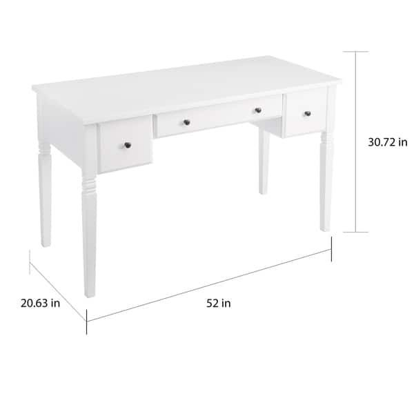 The Gray Barn Cami White 3 Drawer Writing Desk For The Home In 2019 Desk Writing Desk Drawers