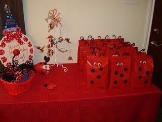 Ladybug party ~ ladybug party favors