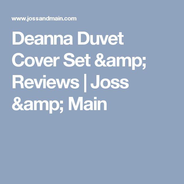 Deanna Duvet Cover Set & Reviews   Joss & Main