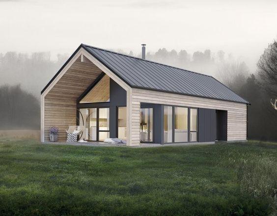 Sehen Sie unsere Fertighäuser und Hütten, wir bauen Häuser, die zu Ihnen passen. Informationen finden