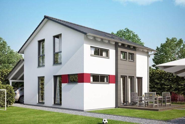 Modernes Fertighaus mit Büro Anbau - Haus Concept-M 166 Bien - bien zenker haus