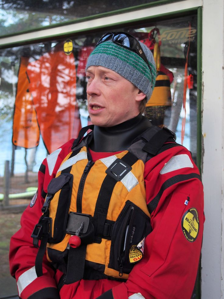 Peter Forsström from Kola Kayaking #Finland #kayaking #KolaKayaking