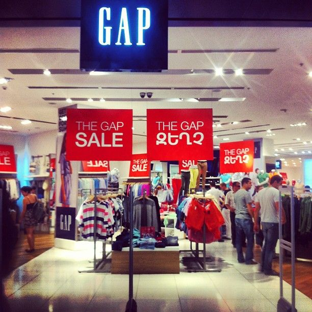 The day has come. Summer Sale at the Armenian GAP. #armenia #yerevan #dalma #mall #consumerism #gap #sale #summer #globalization #bluejeans