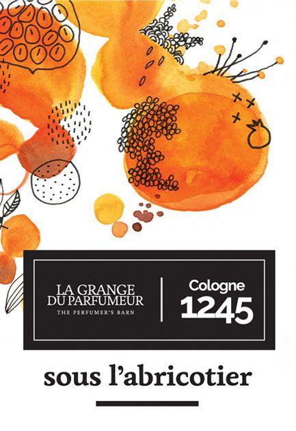 lagrangeduparfumeur.com Sous l'abricotier - Cologne 1245 [Pêche & Noix de coco]  #cologne #parfum #naturalbeauty #faitauquebec #parfumerie #cecilehudrisier