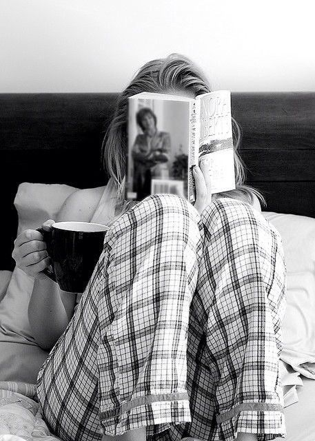 Lazy sunday mornings in bed..