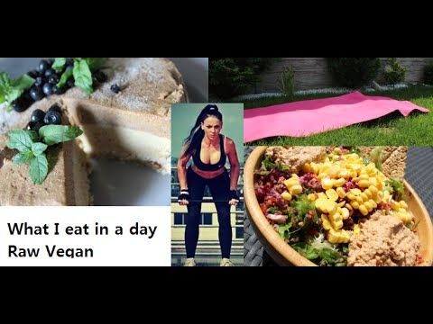 #8 Co jsem dnes jedla RAW/VEGAN/what I eat in a day Raw vegan athlete/fitness - YouTube