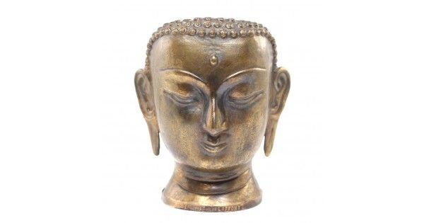 Statuetă Buddha | suport pentru aromatizator brûlé-parfum | aliaj bronz | Franța anii '40