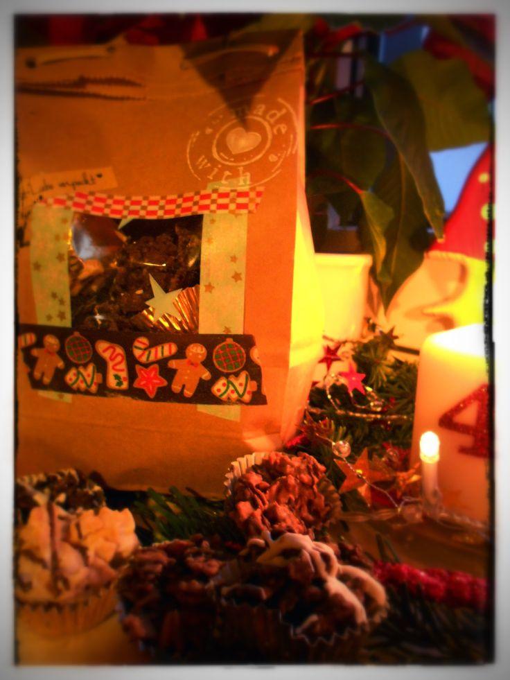 Schokocrossis - Last Minute Geschenk zu Weihnachten aus der Küche. In drei verschiedenen Geschmacksrichtungen.