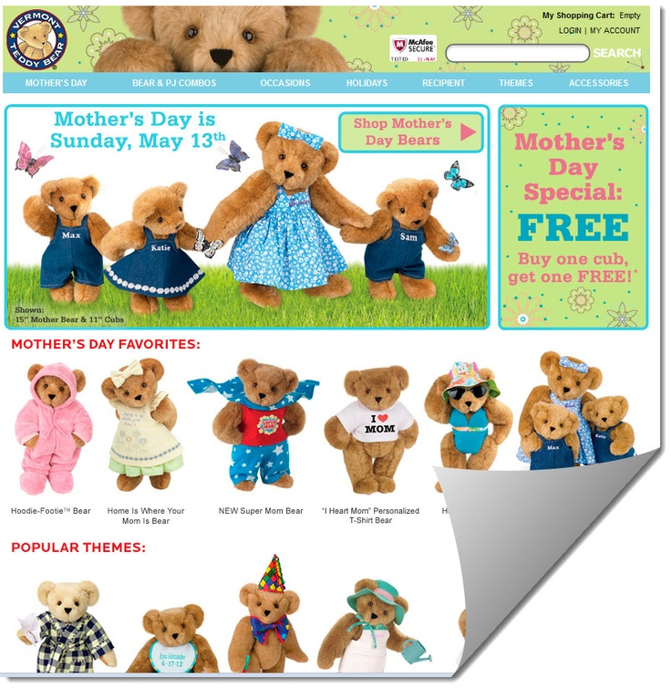 Product Features inch Teddy Bear is stuffed and back-stitched with love in Vermont, USA.