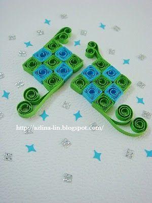 Lin Handmade Greetings Card: More ketupat cards!
