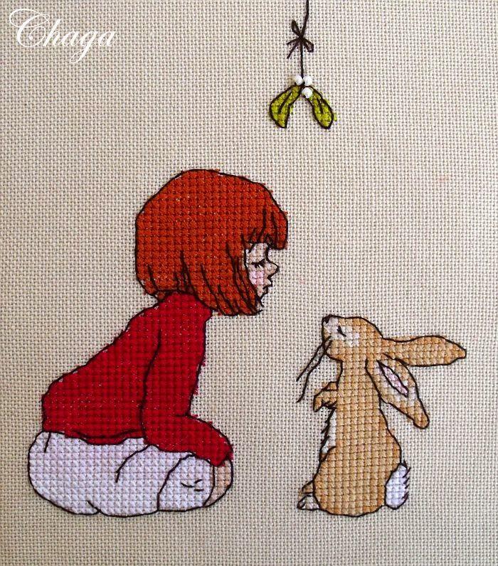 Pasje odnalezione: Belle & Boo - The Mistletoe (miniaturka)