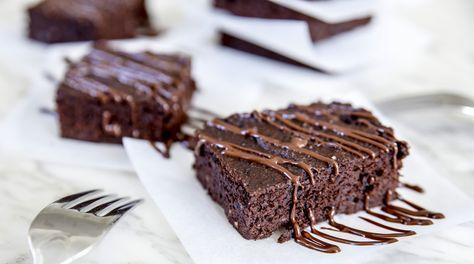 Brownies gjorda med svarta bönor, osannolikt gott och enkelt!