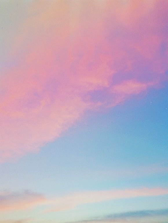 skyscape sweetness ... My grandfather would have called this skybluepink with a finnyhaddy border