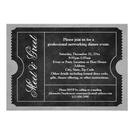 17 best meet \ greet images on Pinterest House party - business meet and greet invitation wording