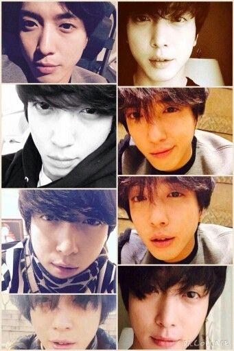 Yong Hwa's selfies..!!