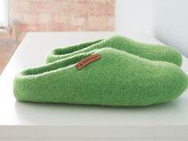 Pantoufles en feutre, Chaussons en laine 100% ! By DaWanda.com