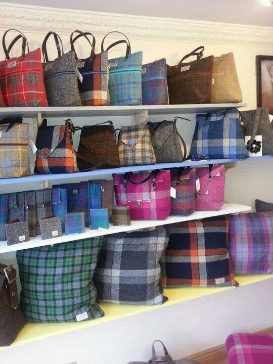 Harris Tweed bags by harristocracy.co.uk