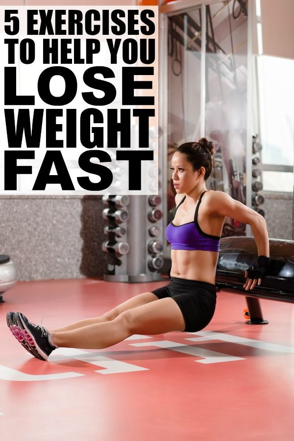 celui lequel exercises to lose weight