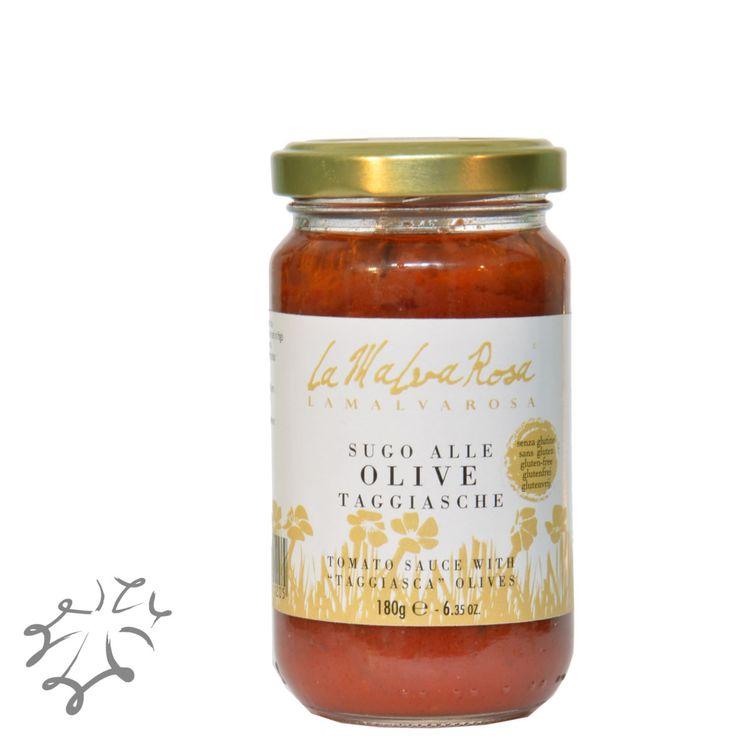 È ideale come condimento per tutti i tipi di pasta (pasta all'uovo, pasta secca o pasta fresca), per la preparazione di bruschette, per arricchire le carni arrosto e preparare il pollo alla ligure. http://occitania.land/produttori/la-malva-rosa/sugo-olive-taggiasche-sughi-pronti-vendita-online-prodotti-alimentari-la-malva-rosa.html