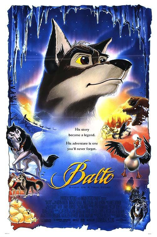 One of my favorite films. My oldest daughter LOVED this movie..cried every time we watched it.She loved this movie so much that we named our second daughter after Balto's *love* interest  <3