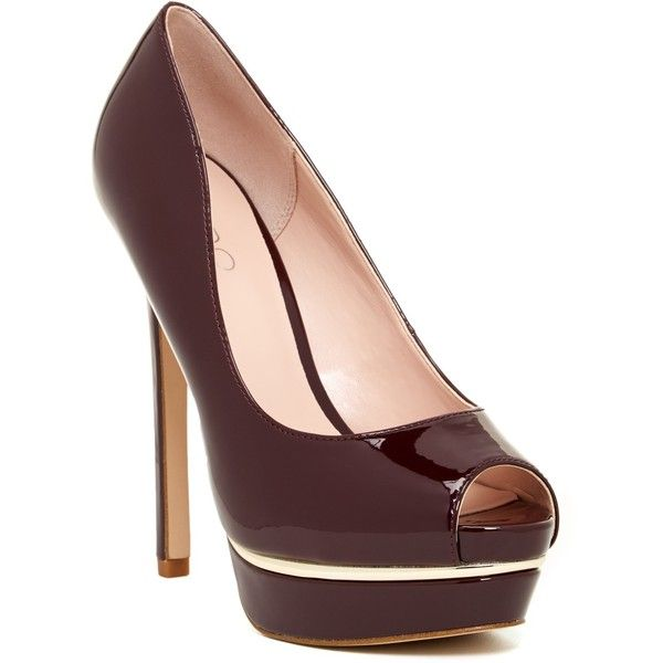 aldo abida pump 60 liked on polyvore featuring shoes pumps bordeaux high heel platform. Black Bedroom Furniture Sets. Home Design Ideas