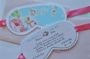 Girls Spa Party Ideas | spa party invites by Waterbaby