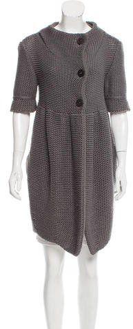 Stella McCartney Knit Short Sleeve Cardigan