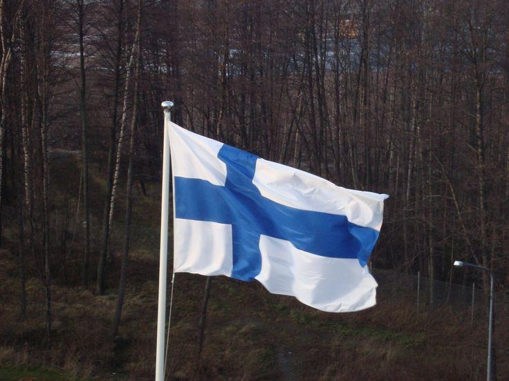 Suomen lippu!