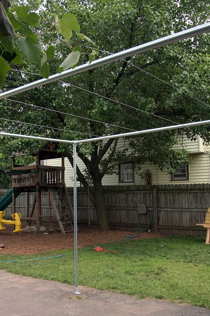 Backyard Grape Vine Trellis - Pipe & Wire | by Simplified Building Concepts