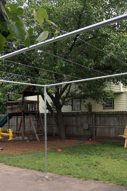 Backyard Grape Vine Trellis - Pipe & Wire by Simplified Building Concepts, via Flickr
