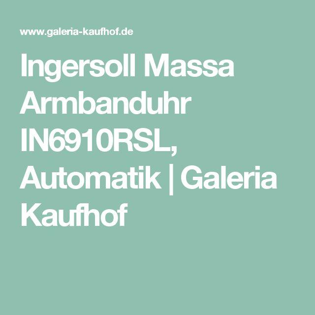Ingersoll Massa Armbanduhr IN6910RSL, Automatik | Galeria Kaufhof