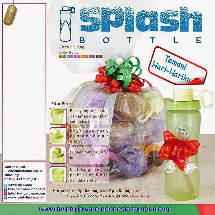 Splash Bottle Tulipware Flyer