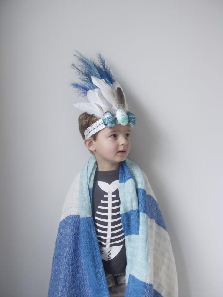 an easter bonnet for a boy